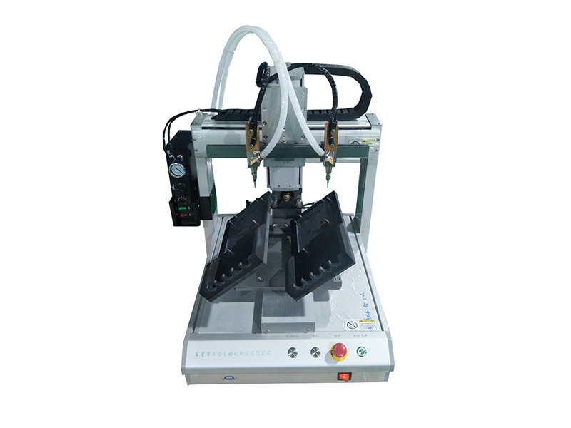 Double point silicone machine