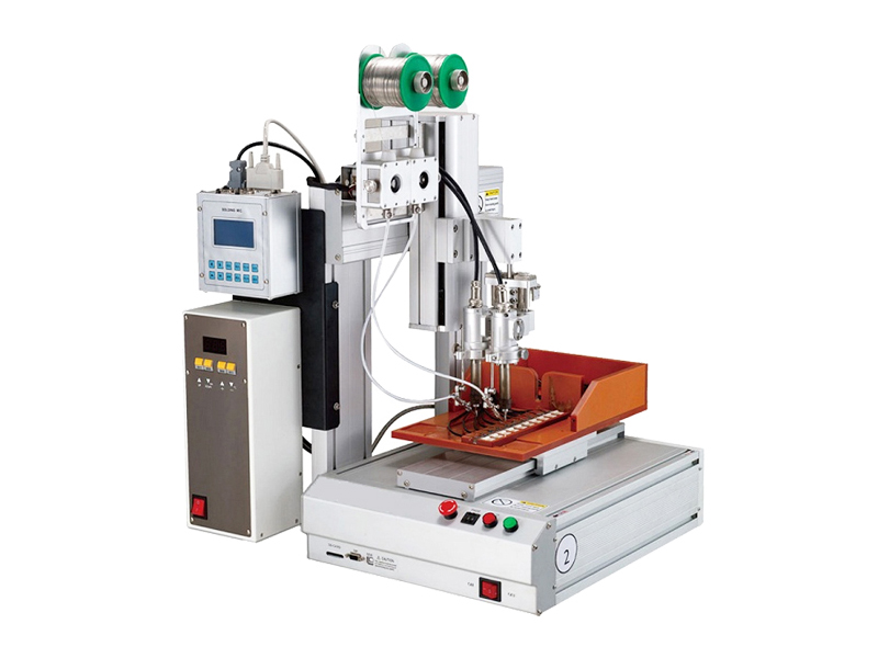 Three axis double head high frequency welding machine