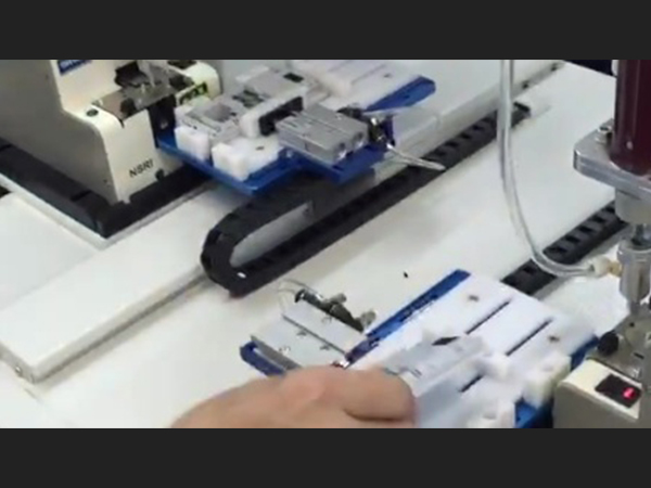 automatic screw locking